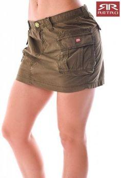 Dámská sukně Retro Jeans Casual Shorts, Retro, Women, Fashion, Moda, Fashion Styles, Retro Illustration, Fashion Illustrations, Woman