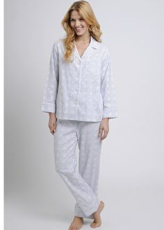 Double Brushed Flannel Pajamas, Poppy Plaid, $148 This warm and ...