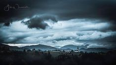 Storm over Kozjak hills Visit Slovenia, Light And Shadow, Weekend Getaways, Nikon, Places To Visit, Clouds, Landscape, Pictures, Outdoor