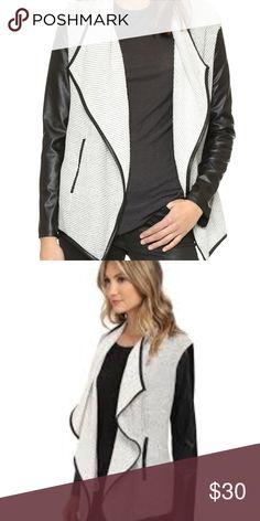 7ee4504c24f0 Jack by BB Dakota Tallon Drape Front Jacket Jack by BB Dakota Tallon Drape  Front Jacket