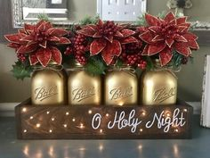O Holy Night Christmas Centerpiece – Stacy Turner Creations
