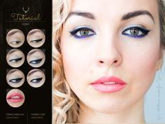Indygo #tutorial #makeup #blogicony