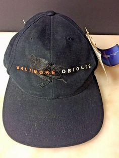 e30ea1395e9 New Baltimore Orioles Baseball Cap snap back hat Black Logo Spell out New