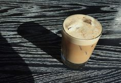 The Irish Iced Latte, made with a Milk Stout, has the bold whiskey backbone of an Irish coffee, the elegance of a milk punch, and the playful, foamy mouthfeel of a Smith and Curran.