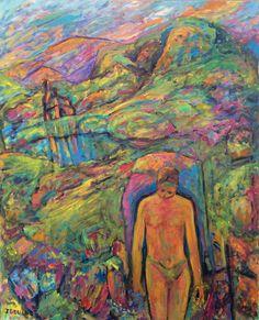 "Untitled Acrylic On Canvas 30"" x 30""  2015"