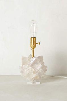 Calcite Crystal Lamp Base - anthropologie.com
