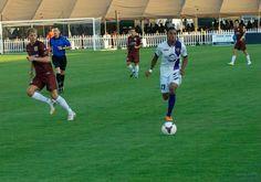 Republic F.C. and Orlando City S.C. battle to a 0-0 defensive tie.