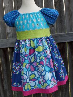 Nicole Peasant 2 4 6 by fluffygirlboutique on Etsy, $36.99