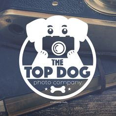 Pet Photography Logo Design for The Top Dog Photo Co. #petdesign #petphotographylogo