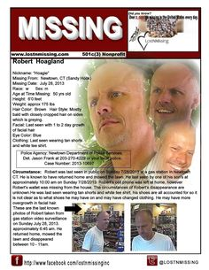 Robert Hoagland missing from CT - since July 28 2013