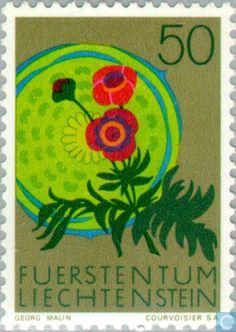 Postage Stamps - Liechtenstein - Nature Conservation Year
