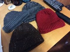 Hats for charity.