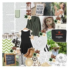 """♔; ""well you're the real tough cookie with a long history"""" by the-forgotten-wolf ❤ liked on Polyvore featuring Chanel, Baldwin, WALL, Assouline Publishing, Chicnova Fashion, Topshop, Authentic Models, Maybelline, Clips and Hourglass Cosmetics"