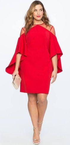 2904bb1d9412 Стильные платья для женщин с пышными формами