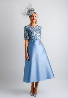 Mother Of Bride Outfits, Mother Of Groom Dresses, Bride Dresses, Mother Of The Bride, Look Fashion, Dress Fashion, Pleated Skirt Pattern, Wedding Outfits, Wedding Dresses