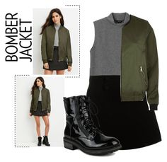 Bomber Jacket by janicevc on Polyvore featuring polyvore fashion style Monki Forever 21 River Island Paul & Joe women's clothing women's fashion women female woman misses juniors bomberjacket contestentry