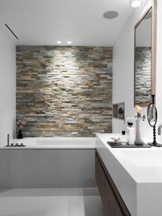 31 Stone Accent Wall Ideas For Various Rooms