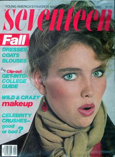 Seventeen Magazine, September 1982 by Look In The Tunk, via Flickr