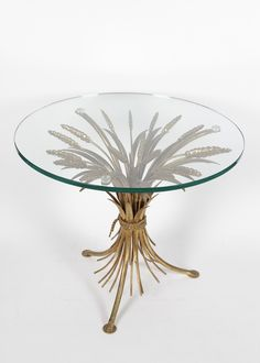 coco chanel and yves st laurent loved sheaf of wheat coffee table