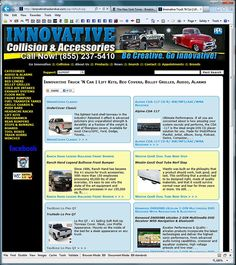 The Innovative Truck 'N Car product catalog web application.