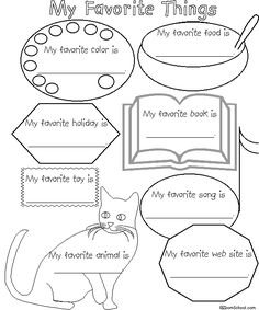 Free printable black white worksheets for preschool