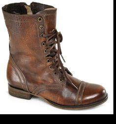 Steve Madden combat boots! #gimmeee