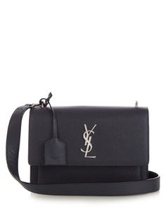 Sunset Monogram leather cross-body bag | Saint Laurent | MATCHESFASHION.COM
