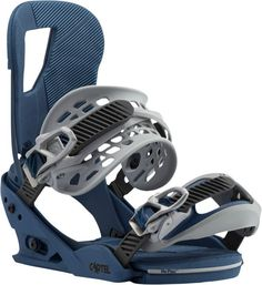 The Burton Cartel Snowboard Bindings in Blue Steel for 2017 continue to be the gold standard for quality binding at an attainable price.