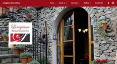 Web design for Lunigiana Renovations. Image rich, yet simple web design. Simple Web Design, Property Management, This Is Us, Gallery, Image, Home, Roof Rack, Ad Home, Homes