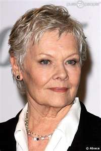 Dame Judy Dench--for aging gracefully and being absolutely lovely in the process!  <3 <3 <3