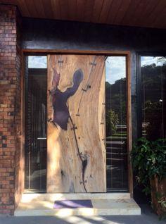 natural wood door  Asian Arts Imports