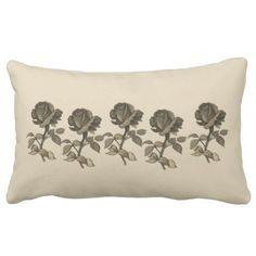 Montana Rose Lumbar Pillow - personalize custom customizable