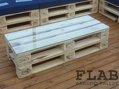 Bancali mobili ~ Mobili tavoli sedie in pallet flab arredo pallet arredamento