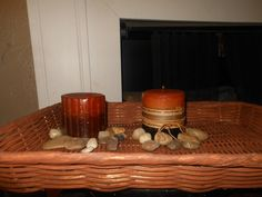 Old Brown Wicker Tray by AngelPaws6 on Etsy
