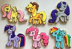 Little Horses 12cookies by SugarySweetCookies on Etsy