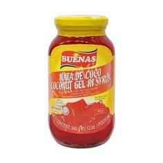 Buenas Coconut Gel in Syrup (Red) 340g