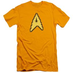 """Checkout our #LicensedGear products FREE SHIPPING + 10% OFF Coupon Code """"Official"""" Star Trek / 8 Bit Command-short Sleeve Adult 30 / 1-gold-sm - Star Trek / 8 Bit Command-short Sleeve Adult 30 / 1-gold-sm - Price: $29.99. Buy now at https://officiallylicensedgear.com/star-trek-8-bit-command-short-sleeve-adult-30-1-gold-sm"""