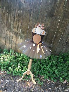Deer costume - deer tutu - girls dress up - doe tutu dress - Halloween costume for girls - girls costume - dresses for girls - deer dress by DivazByDesign on Etsy https://www.etsy.com/listing/508590752/deer-costume-deer-tutu-girls-dress-up