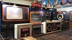 Ejemplo de nuestro trabajo #Saljamex en #Expo3B Diseño y producción de STRUKTURA GROUP Arcade Games, Jukebox