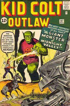 Kid Colt Outlaw #107