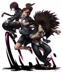 Fukawa, Asahina and Hagakure
