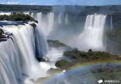 """""""Cataratas do Iguaçu"""" Falls. Paraná State, Brazil."""