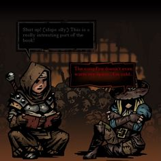 [Darkest Dungeon] Slapping Afflicted Allies* by Mid-Air-Backstab