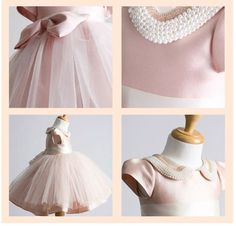 Couture Princess Collection Baby Dress baptism by NikkiKatebyJB