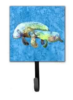 Caroline's Treasures Manatee Wall Hook