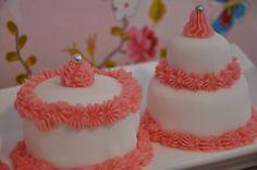 Cupcakes à la rose déguisés en Pièce Montée !