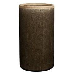 HomArt Mulberry Ceramic Cylinder Vase, Large, Brown $58.00