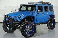 eBay: 2014 Jeep Wrangler 2014 Jeep Wrangler Unlimited lift kit leather navigation LED light rack #jeep #jeeplife usdeals.rssdata.net