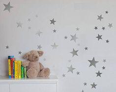 Divers taille étoiles Stickers enfant sticker Art pépinière chambre vinyle décoration murale
