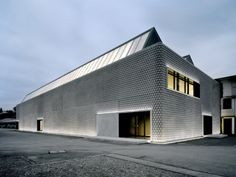 Noppenhalle by Baier Bischofberger Architects An old factory building converted into a private art museum.